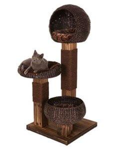 Katzenkratzbaum mit 2 Liegemulden