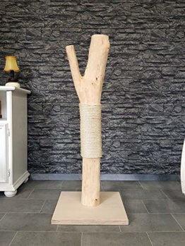 Katzenkratzbaum echtholz