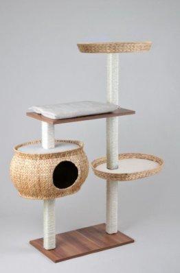 Katzenkratzbaum Holz