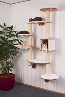 Katzenkratzbaum für an die Wand